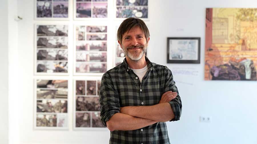 Paco Roca lidera la apuesta cultural de Els Magazinos con un paseo por sus mejores obras