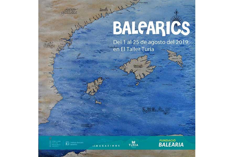 Artistas baleares y valencianos se unen en Baleàrics como una muestra ligada al Mediterráneo.