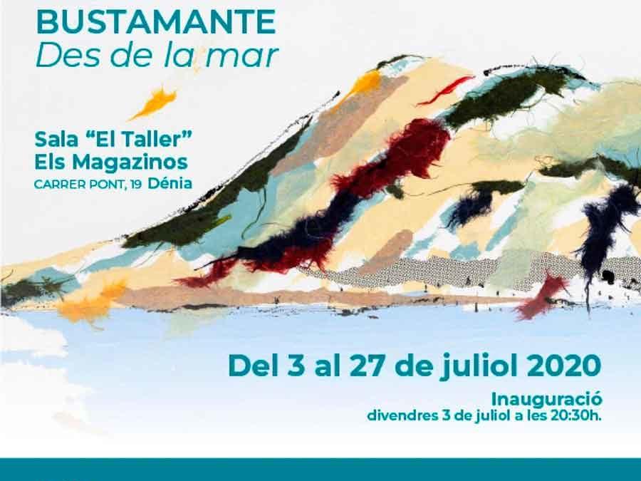 La pintora Diana Bustamante trae el paisaje Mediterráneo al Taller Turia de Els Magazinos