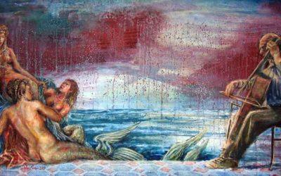 Las sirenas de Pérez Carrió en el Taller Turia de Els Magazinos. Entre el mito, la fantasía y la seducción.