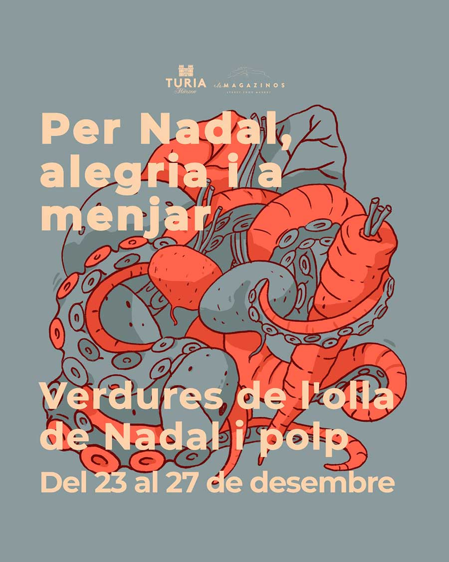 Cartel-cuina-de-territori-els-magazinos-denia-diciembre-verduras-de-puchero-y-pulpo-