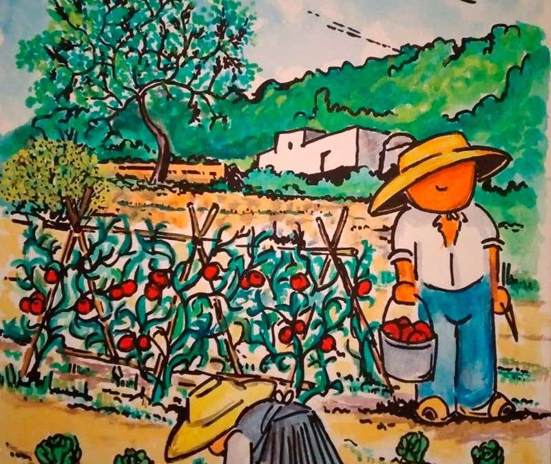 El restaurante A la fresca inaugura exposición dedicada a los trabajadores del campo